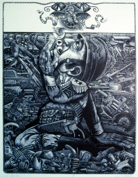 JAMES GRASHOW - Woodcut Prints
